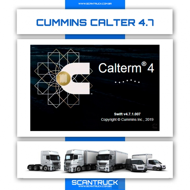 CUMMINS CALTERM V4 (4.7.1.007 + METAFILES) 2020