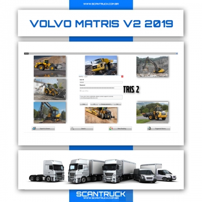 imagem do produto VOLVO MATRIS V2 MÁQUINAS