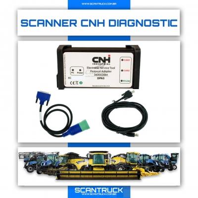 imagem do produto SCANNER CNH DIAGNOSTIC ORIGINAL NEW HOLLAND E CASE PARA MOTOR IVECO