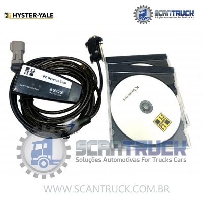 SCANNER INDUSTRIAL HYSTER YALE EMPILHADEIRAS