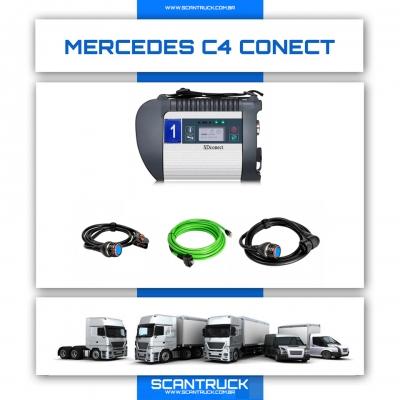 imagem do produto SCANNER AUTOMOTIVO MERCEDES-BENS C4 CONECT CAMINHÃO / ÔNIBUS