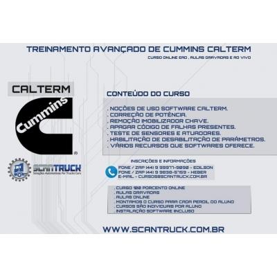 CURSO DO CUMMINS CALTERM III ( CURSO PRÁTICO )