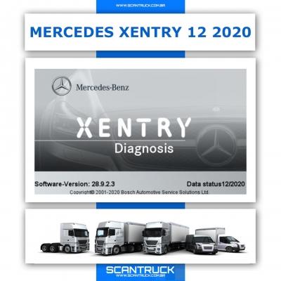 imagem do produto MERCEDES DAS XENTRY 03 / 2021 COMPLETO EOL CHIPCARD ADBLUE OFF