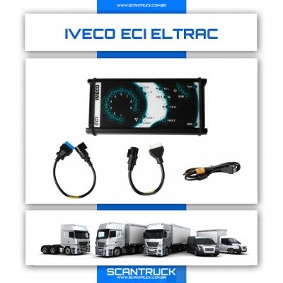 imagem do produto SCANNER Iveco Eltrac ECI Easy Original v14.1.xxx
