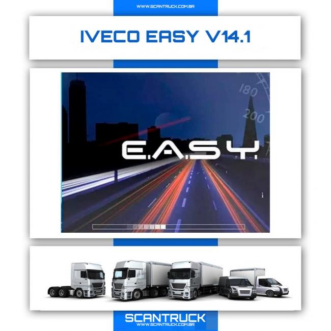 IVECO EASY 14.1 ORIGINAL - (VERSÃO INSTALADA POR ACESSO REMOTO)