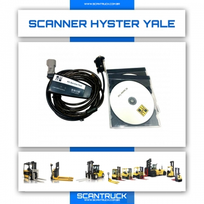imagem do produto SCANNER INDUSTRIAL HYSTER YALE EMPILHADEIRAS